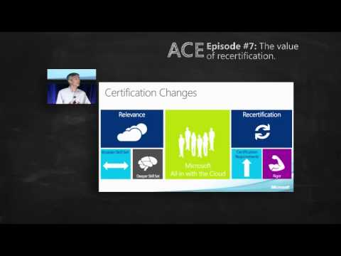 Value of Recertification  - Microsoft Certifications