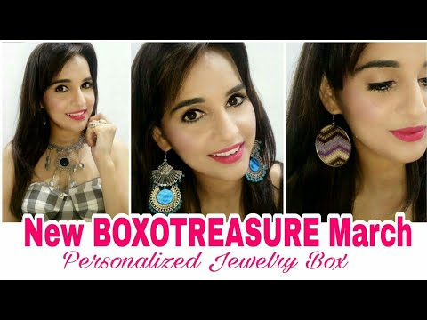 *New * Box O Treasure @450 | Jewelry Box | Unboxing & Try on Review | GIVEAWAY OPEN