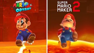 Super Mario Odyssey Final Level Recreated in Super Mario Maker 2