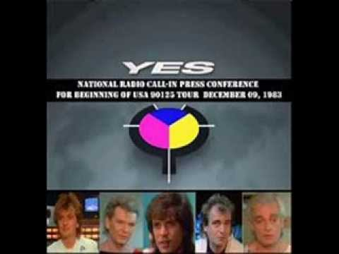 Yes - National Radio Press Conference [90125 Tour Promo - 9/2/1983]