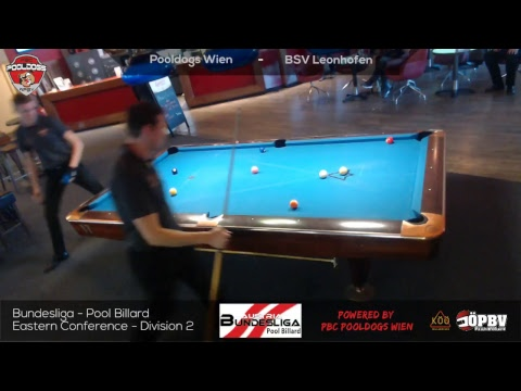 6.10.18- ST1 -M#6 - Team 9Ball - RT7 - Wlach/Butschek vs. Seel/Mayr