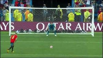 Russland gegen Spanien Elfmeterschießen | Fußball WM 2018