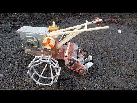 Rc model soil excavato - Sáng tạo Máy sới đất cho xe công nông mô hình RC. Kênh youtube #baremtv