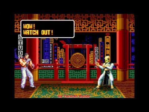 Art Of Fighting Sega Mega Drive Genesis Longplay Robert