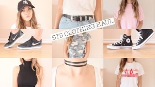 BACK TO SCHOOL TRY-ON CLOTHING HAUL 2016