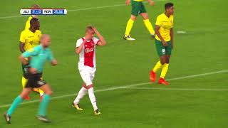 Video Jong Ajax - Fortuna Sittard (25-08-2017) download MP3, 3GP, MP4, WEBM, AVI, FLV Desember 2017