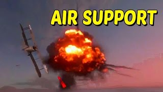 AIR SUPPORT! – Attack Plane Gameplay na Forteca Fao