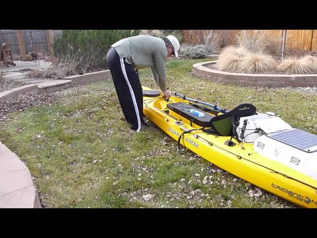 Rigging my Ocean Kayak Ultra 4.7 kayak