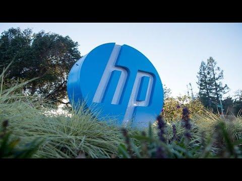 HP shares fall despite earnings beat
