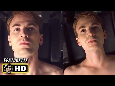 CAPTAIN AMERICA (2011) Skinny Steve Rogers [HD] Chris Evans Behind the Scenes