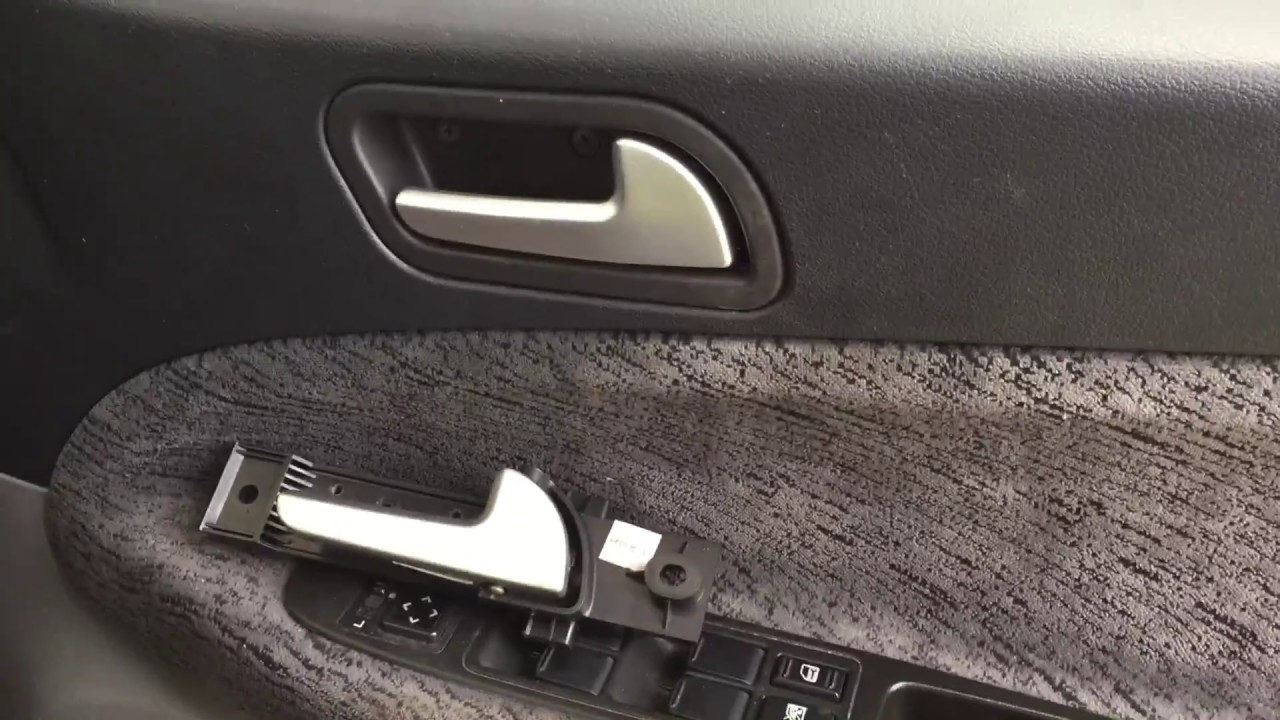 How To Replace Inner Door Handle For Proton Persona