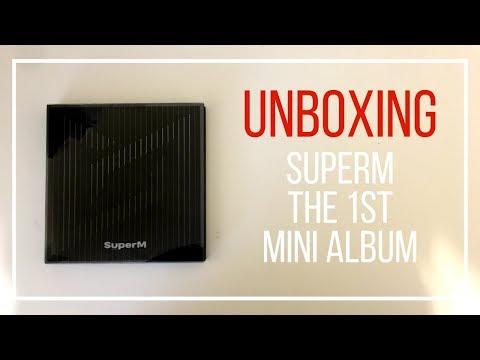 ♡ [UNBOXING] SuperM - The 1st Mini Album [GROUP/UNITED VER.] ♡