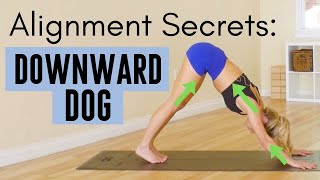 Alignment Secrets in Downward Dog | Hand, Shoulder & Feet Placement for maximum benefits