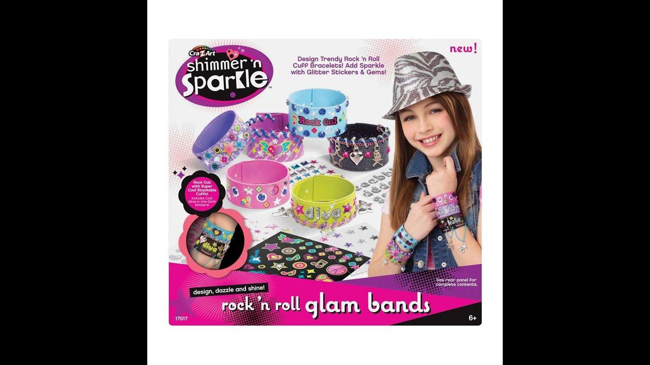 Pulseras Shimmer n Sparkle Juegos brazaletes para nias con etiquetas