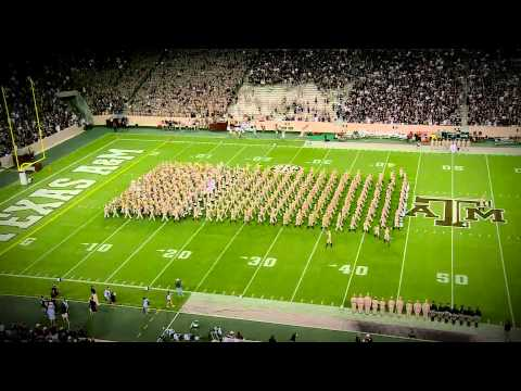 Texas A&M Halftime Drill A&M VS. BALL STATE