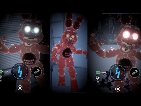 FNAF AR | SYSTEM ERROR TOY BONNIE WITH SPRINGTRAP CPU DEFEATED | Five Nights at Freddy's AR!