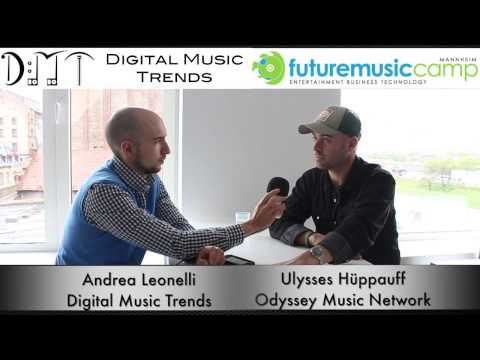 Ulysses Hüppauff, founder of music management company Odyssey Music Network - Future Music Camp 2013