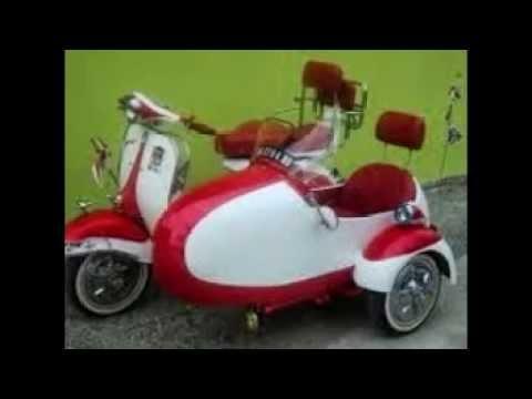 Koleksi Foto Modifikasi Vespa Klasik Motor Vespa Jadul Youtube