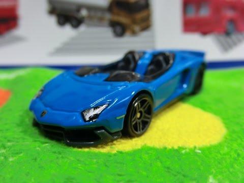 hot wheels lamborghini aventador j blue