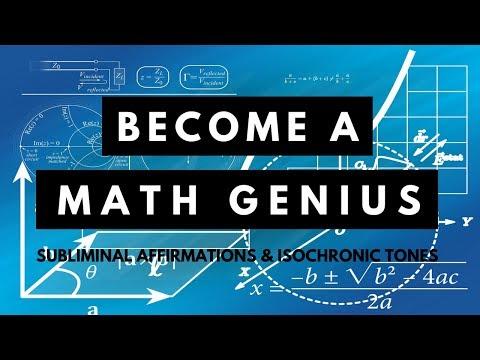 MATH GENIUS SUBLIMINAL  | Unleash Your Mathematical Potential | Powerful Subliminal Booster