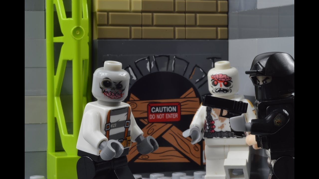 Download LEGO SWAT lego  swat guy vs zombies -part 2