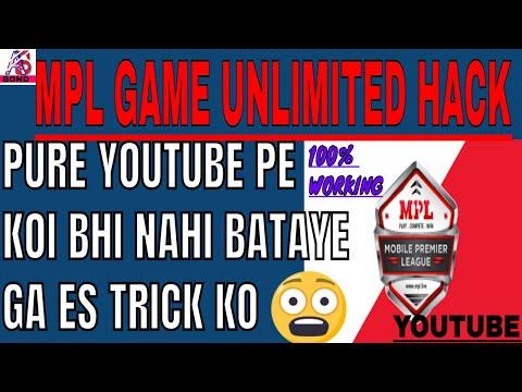 poore YouTube pe mpl game KO kaise hack kre koi nahi btayega,how to hack mpl game hack unlimited tr,