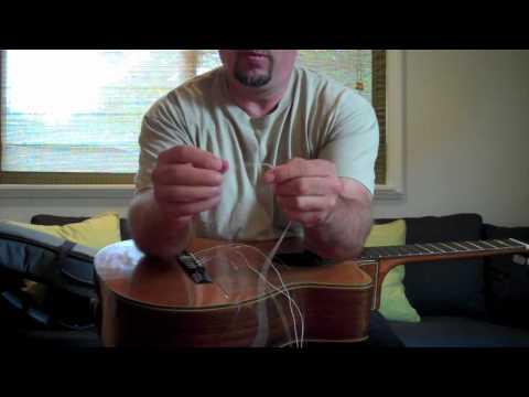 Restringing a Classical Guitar