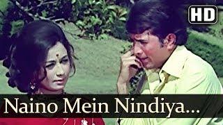 Naino Mein Nindiya Hai - Rajesh Khanna - Nanda - Joru Ka Ghulam - Old Bollywood Songs