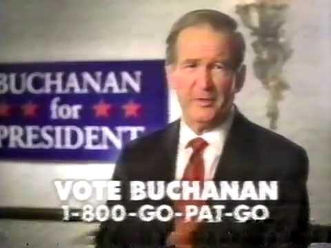 November 2000 - Pat Buchanan for President TV Commercial