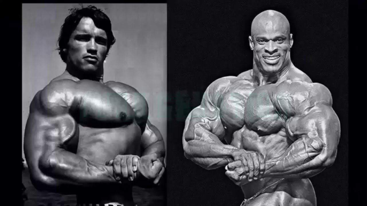Bodybuilding Old School Vs New School Arnold Schwarzeneger Ronnie