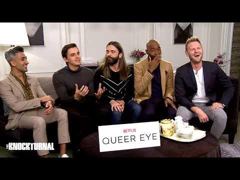 Tan France, Antoni Porowski, Jonathan Van Ness, Karamo Brown, & Bobby Berk  Talk 'Queer Eye'