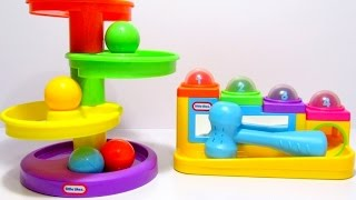 Учим цвета и цифры на английском языке с развивающими игрушками Little Tikes.
