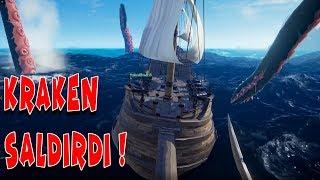 DEV AHTAPOT KRAKEN PEŞİMİZDE !  | Şapşal Korsanlar #2 W/ Han ve Teo