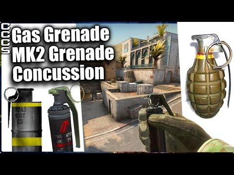 Cut Content of CS:GO - Removed Grenades - CCCS#26