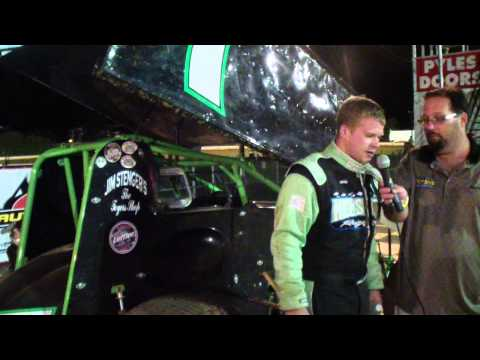 Port Royal Speedway 305 Sprint Car Victory Lane 8-10-13