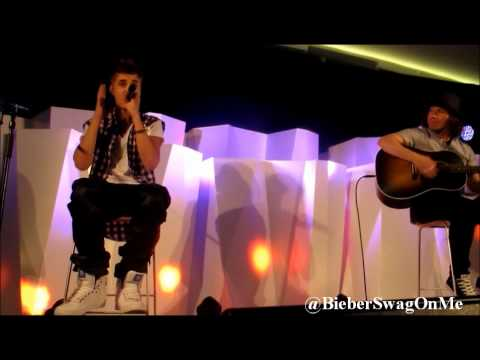 Justin Bieber Fall Acoustic Live - New Zealand