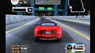 EA Sports Nascar Chase For The Cup 2005 (Playstation 2) Game Play