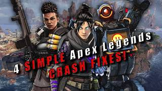4 SIMPLE Apex Legends CRASH FIXES! (They actually work!) February 2020