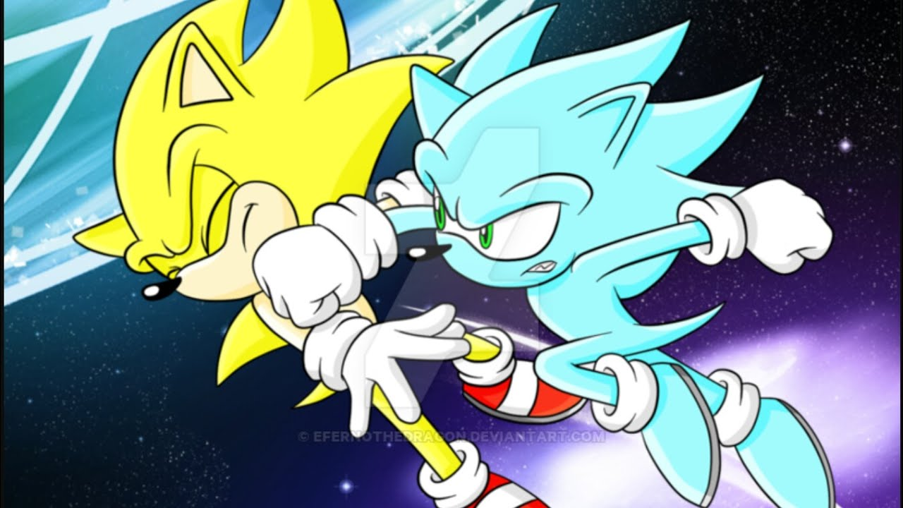 Super Sonic and Super Shadow vs Nazo (First Full Fight ...