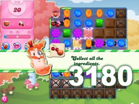 Candy Crush Saga Level 3180 (No boosters)