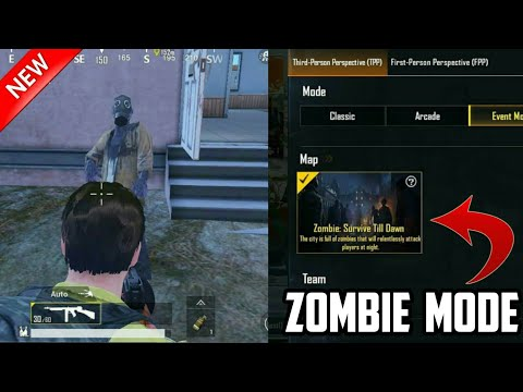 Upcoming Zombie Mode • Pubg Mobile • New Update