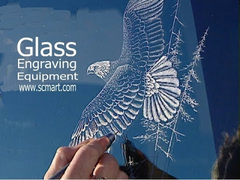 How to Glass Engraving Equipment...Laser Precision Glass etching tools Power Carving tools