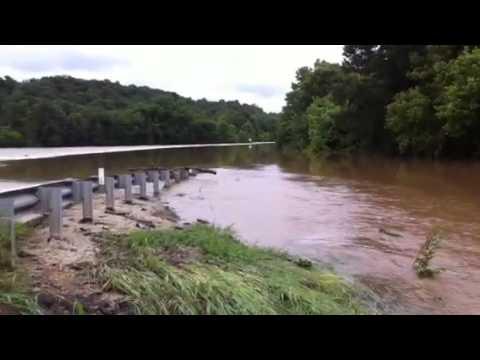 Missouri Flooding on Route 63 near Vichy
