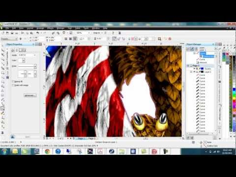 Corel Draw - working with bitmaps - Part I