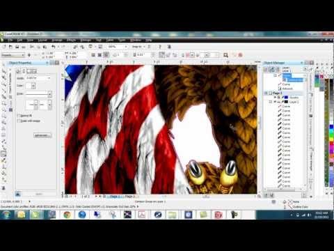 Corel Draw - working with bitmaps - Part I