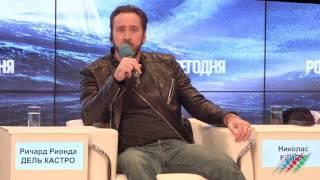 Николас Кейдж на премьере фильма «Крейсер»