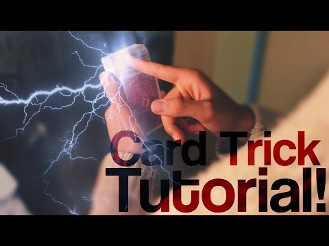 LEARN CARD MAGIC - Use Static Electricity To Find ANY Card!