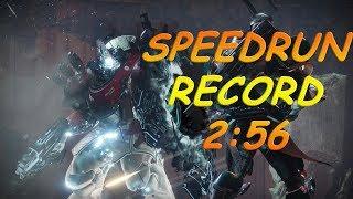 Fastest Strike in Destiny 2! Lake of Shadows Speedrun in 2:56