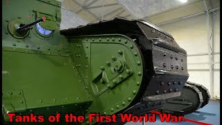 TANKS OF THE FIRST WORLD WAR IN PATRIOT PARK MOSCOW