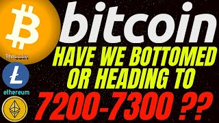 WARNING!!! BITCOIN LITECOIN AND ETHEREUM IN A CRITICAL AREA!! crypto price, analysis, news, trading
